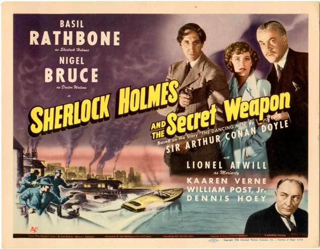 Sherlock Holmes and The Secret Weapon - Bruised Onion Studio